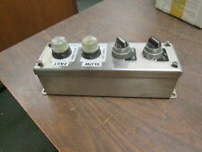 Hoffman E4PBSS Stainless Pushbutton Enclosure 4 Hole 59640