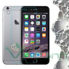 Pellicola VETRO temprato trasparente 0,26mm display p iPhone 6 4.7 6S protezione