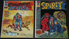 Warren THE SPIRIT MAGAZINES 11pc Count Mid Grade Comic Lot VF Will Eisner