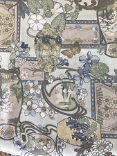 BTY~Potpourri~Artistic Expressions Fabric~Art Nouveau~Floral~100% Cotton~