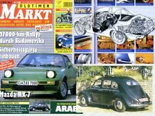 O Markt 2002/03 Alpine A 110 Viertüriger VW Käfer Mazda RX-7 Panther Singles