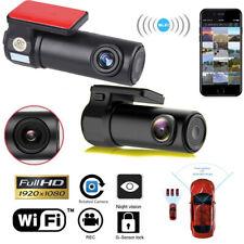 Caméra de Voiture WiFi Caméra Embarquée Full HD 1080P Mini 170° Dashcam DVR