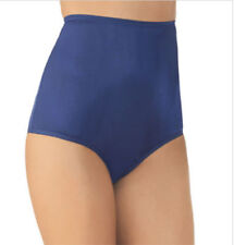 4 prs VANITY FAIR Brief PERFECTLY YOURS RAVISSANT 15712 Panty NAVY BLUE 8 / 1XL
