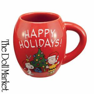 New - The Peanuts Happy Holidays - Collectible Coffee Mug by Vandor