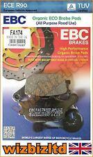 EBC Rear Organic Brake Pads Honda NC 750 D Integra Scooter - DCT 14-15 FA174