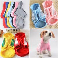 New/Dog Cat Pet Warm Cotton Jacket Coat Hoodie Puppy Winter Clothes Pet Costume.