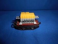 FREIGHT Rail TRAIN w/ TRANSFORMER Wagon CAR Plastic Kinder Surprise Egg N Scale