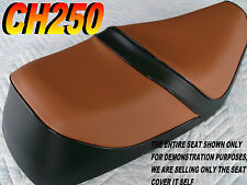 CH250 1985-88 seat cover for Honda CH 250 ELITE SPACY FREEWAY Black & brown 124B