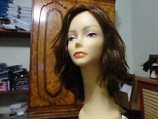 Malky  100% Human Remy Hair Medium  Brown/ Highlights Kosher Wig Sheitel