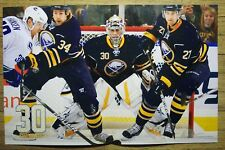 RYAN MILLER - Buffalo Sabres 2010-2011 game night poster #20 - NHL hockey 1-1-11