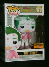 Funko Pop DC Bombshells Joker Hot Topic Exclusive Pink