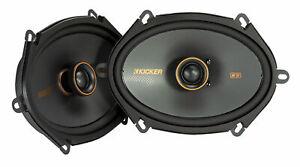 "Pair Kicker 47KSC6804 KSC680 6x8"" 75 Watt 2-Way Car Stereo Speakers KSC68"