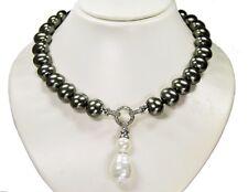 cadena preciosa de cadena de concha de perlas Siva con Blanco Color Colgante