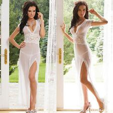 Women Sexy-Lingerie Dress Babydoll Sleepwear Underwear G-String Nightwear HS