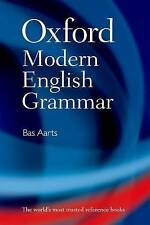 NEW Oxford Modern English Grammar by Bas Aarts