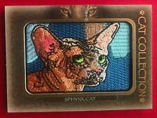 2020 Upper Deck Goodwin Champions Cat Collection Patch SPHYNX CAT #FC-3