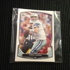 2014 BOWMAN DALLAS COWBOYS TEAM SET 7 CARDS  TONY ROMO +