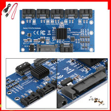 Expansion card 1 to 5 Port SATA 3.0 Controller Motherboard 6 Gbps Multiplier