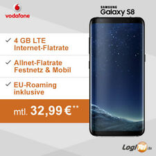 Samsung Galaxy S8 Handy mit Vodafone 4GB Vertrag Allnet-Flat inkl. 32,99€mtl.