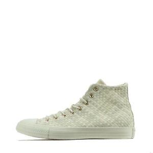 Converse Chuck Taylor All Star Hi Weave Men's Plimsolls Trainers Shoes