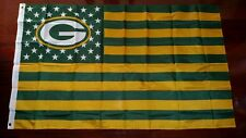 Green Bay Packers 3x5 American Flag. US seller. Free shipping within the US!!!