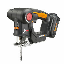 Worx 20V Axis MaxLithium Battery 2-In-1 Cordless Reciprocating and Jig Saw Tool