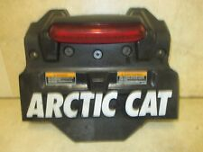 10 ARCTIC CAT M8 M 800 HO SNOW FLAP REAR MUD GUARD TAILLIGHT STOCK OEM M800 9594