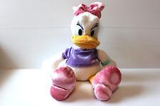 Daisy Duck Stuffed Animal, Disney Store Plush Collectible, Gift for Girl, Euc
