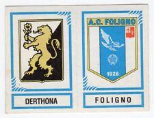 figurina CALCIATORI PANINI 1982/83 NEW numero 568 DERTHONA FOLIGNO
