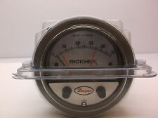 DWYER INSTRUMENTS A3000-00 Pressure Gauge, 0 to 0.25 In H2O (D57K)