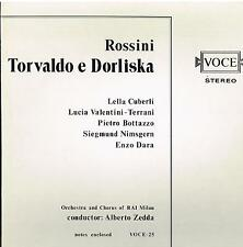 Rossini: Torvaldo e Dorliska / Zedda, Cuberli, Valentini-Terrani, - LP NM / EX