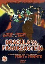 Dracula Versus Frankenstein DVD Carrol Naish Lon Chaney UK Release New Sealed R2