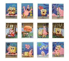 "12 SpongeBob Squarepants Stickers - Set of 12 Larger 3""x4"" Stickers"