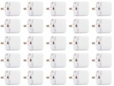 25x 2A 10W Usb Power Adapter Ac Home Wall Charger Us Plug For iPhone 5S 6 7 8 Xs