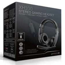 Gioteck XH100 Wired Stereo Headset 'Black' PS4 Xbox One PC DVD - NEW & SEALED