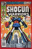 Shogun Warriors Vol. 1 Issue #1 1979 Marvel Comics Japanese Giant Robots Mattel