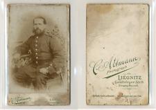 C.Attman, Liegnitz, Legnica, Pologne, officier, soldat, militaire, à identifier