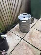 More details for large empty beer barrel../ keg...turn into designer garden seat ..plant pot or ?