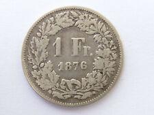 H234        SCHWEIZ 1,- Franken 1876