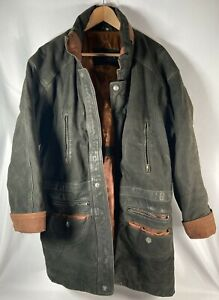 Dommer Collection - Country Gentleman Style Leather Coat - Mens XL