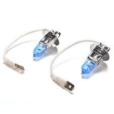 2x H3 Super Bright White Light Lampada auto alogena Lampadina faro 12V 55W