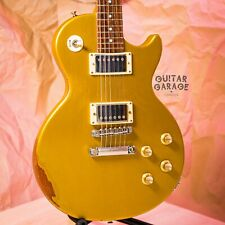 2002 Gibson USA Les Paul Special Gold Top Relic nitro guitar with hardcase