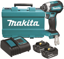 Makita IMPACT DRIVER KIT DTD153SFE 18V 2x3.0Ah Batteries, Charger, Carry Case