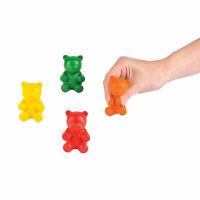 Gummy Bear Stress Toy - 12 Pieces