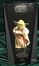 "star wars sideshow 12"" 1/6 scale jedi master yoda  figure"