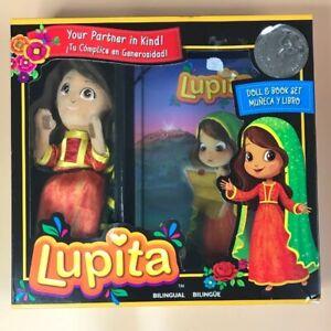 Lupita Doll and Book Boxset Bilingual English And Spanish. NEW