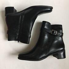 Naturalizer Black Chelsea Boots 7 Vegan Leather Festival Hipster Americana Boho