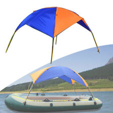 Inflatable Boat Canoeing Visor Fishing Canopy Awning Sun Shade Shelter Tent +Bag