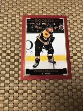 2017-18 UD O-PEE-CHEE ROOKIES CHARLIE MCAVOY RC RED GLOSSY #R-4  BRUINS