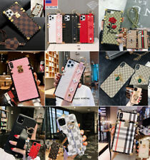 Luxury Pattern Hand Strap Phone Case for iPhone 7/8 Plus X XS MAX XS 11 pro max